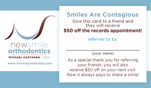 Refer a Friend to New Smile Orthodontics